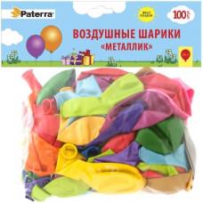 """401-543 Воздушные шарики """"Металлик"""", 30 см,100 шт."""