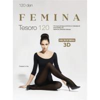Колготки FEMINA TESORO 120 den 3D 3-M NERO