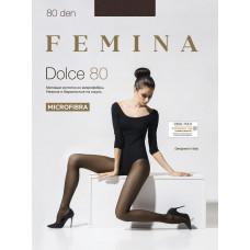 Колготки FEMINA DOLCE 80 den 1/2-S FUME