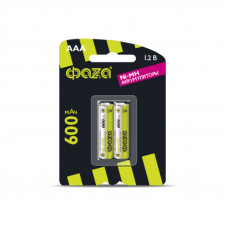 Аккумулятор AAA 600мА.ч Ni-MH BL-2 (уп.2шт) ФАZА