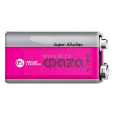 Батарейка ФАZА Super Alkaline 6LR61-BL1 крона