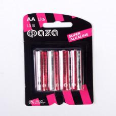Батарейка ФАZА Super Alkaline LR6SA АА