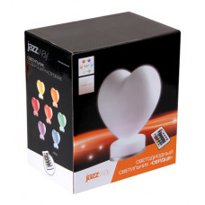 Декоративный светильник   JAZZway AJ1-RGB-ST08 «сердце»