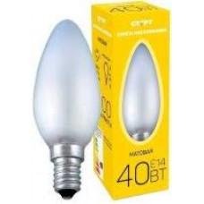 Лампа накаливания СТАРТ ДС 40Вт Е14 уп.10/100K