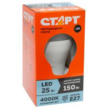 Лампа СТАРТ ECO LEDGLSE27 25W 40
