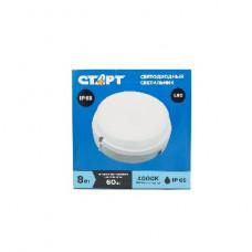 Настенный светильник СТАРТ BL 8W Circle 4000K /60