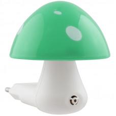 Светильник ночник СТАРТ NL 1LED Гриб зеленый