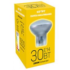 Зеркальная лампа накаливания СТАРТ R39 30Вт E14